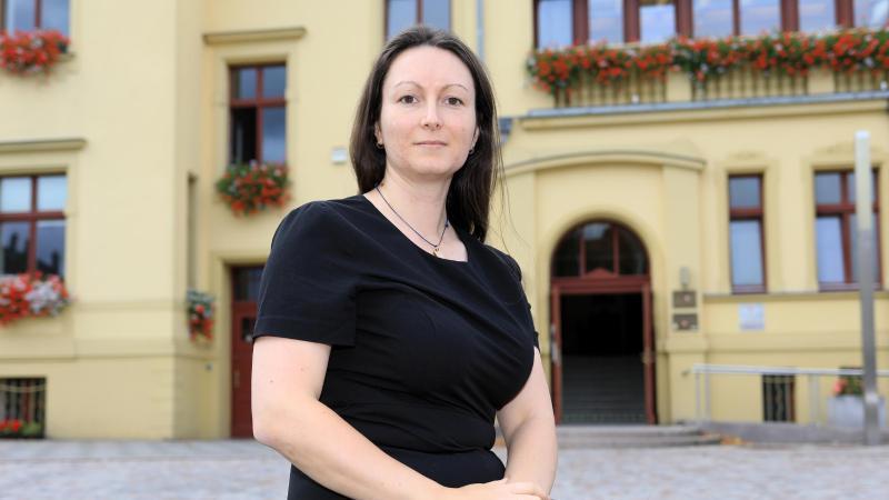 Karolin Braunsberger-Reinhold (CDU). Foto: Peter Gercke/dpa-Zentralbild/dpa