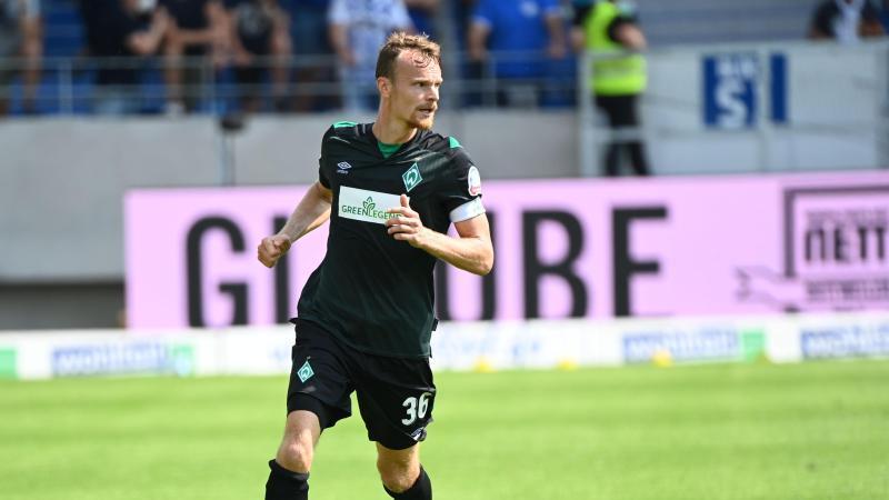 Christian Groß in Aktion für den SV Werder Bremen. Foto: Uli Deck/dpa/Archivbild