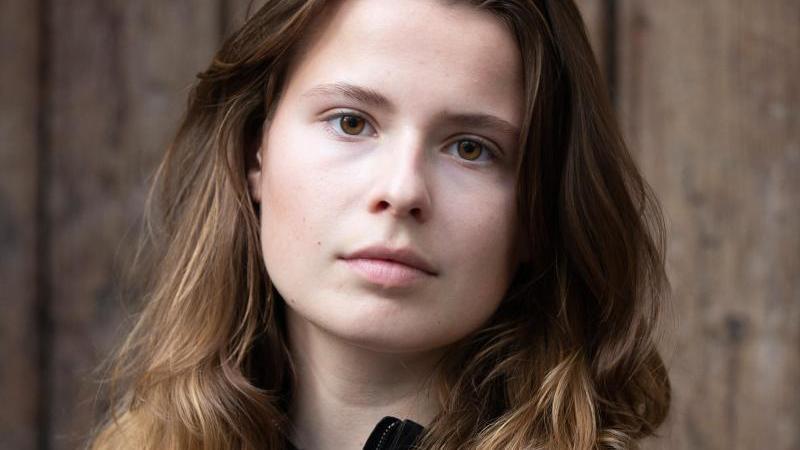 Klimaaktivistin Luisa Neubauer. Foto: Thomas Banneyer/dpa/Archivbild