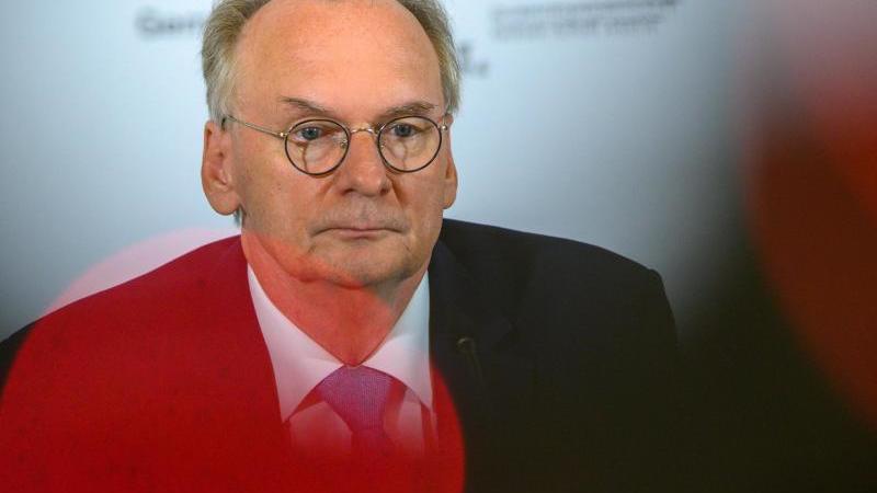 Reiner Haseloff (CDU) spricht. Foto: Klaus-Dietmar Gabbert/dpa-Zentralbild/ZB