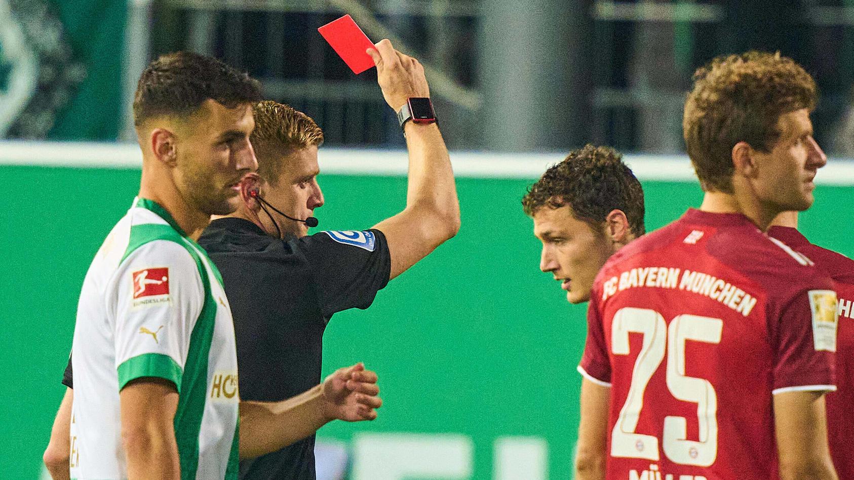 24.09.2021, Fussball, Bundesliga 2021 - 2022, 6. Spieltag, SpVgg Greuther Fuerth - FC Bayern Muenchen, GER, Fuerth, Spo