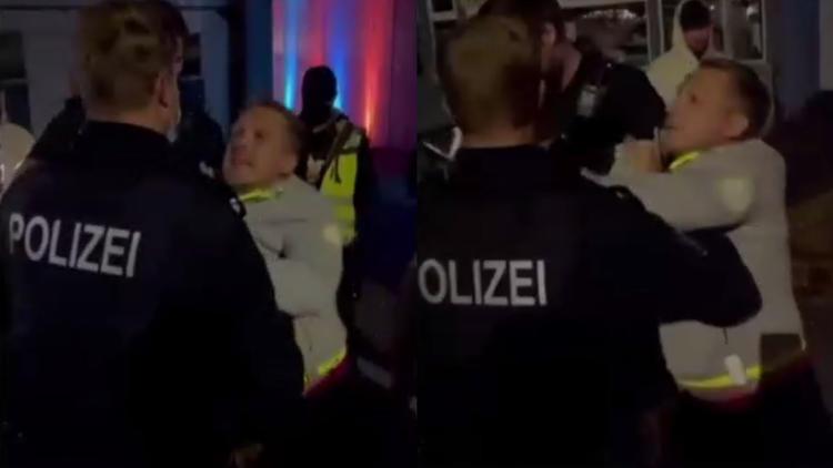 Eklat bei Konzert von Kumpel Pietro - Warum Pocher von der Polizei abgeführt wird