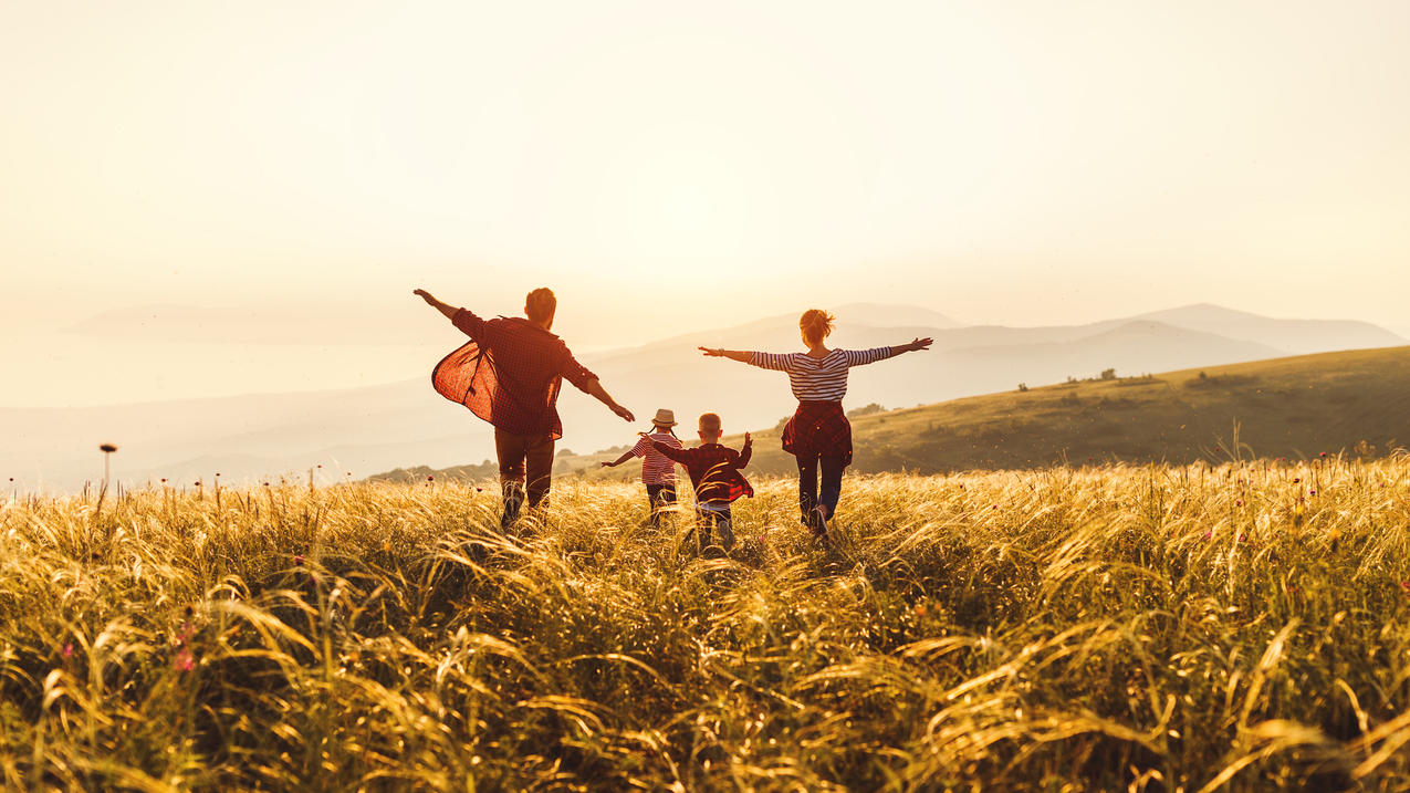 Für Familien mit kleinem und mittlerem Einkommen besteht die Möglichkeit eines vergünstigten Urlaubs.