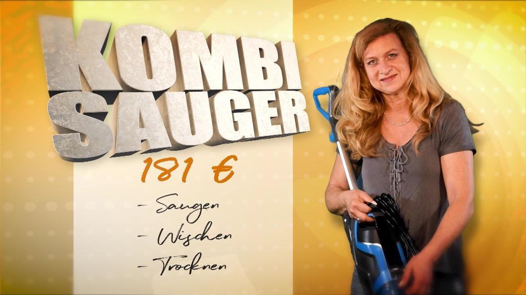 Annette mit Kombisauger für 181 Euro