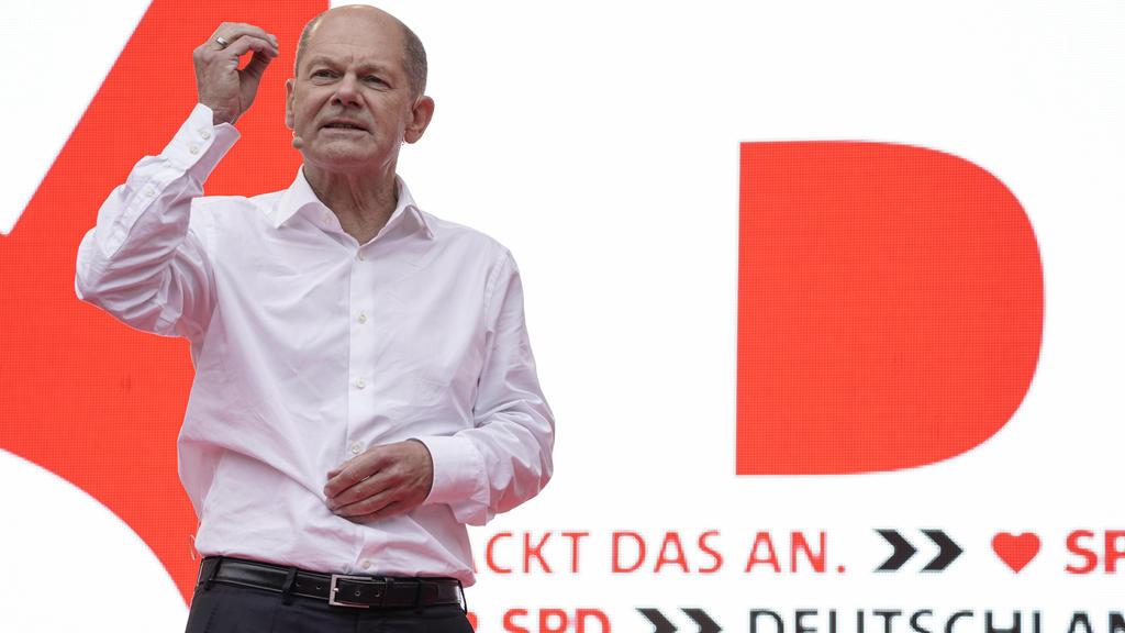 Olaf Scholz soll mit den Aktivisten telefoniert haben.