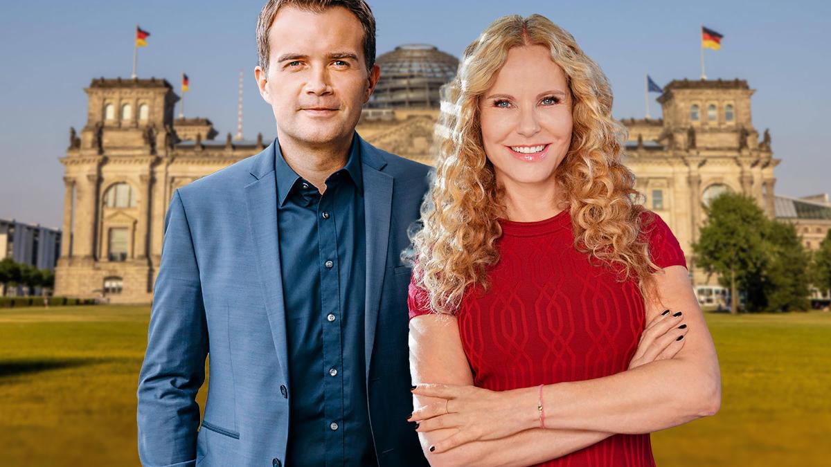 Peter Kloeppel und Pinar Atalay moderieren ab 17 Uhr die Wahlsendung. Aber schon ab 12 Uhr informieren Sie Katja Burkard und Christopher Wittich und am Abend gibt es den Talk mit Frauke Ludowig und Nikolaus Blome.