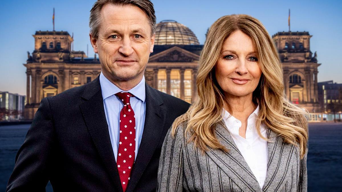Nikolaus Blome und Frauke Ludowig diskutieren zur Wahl