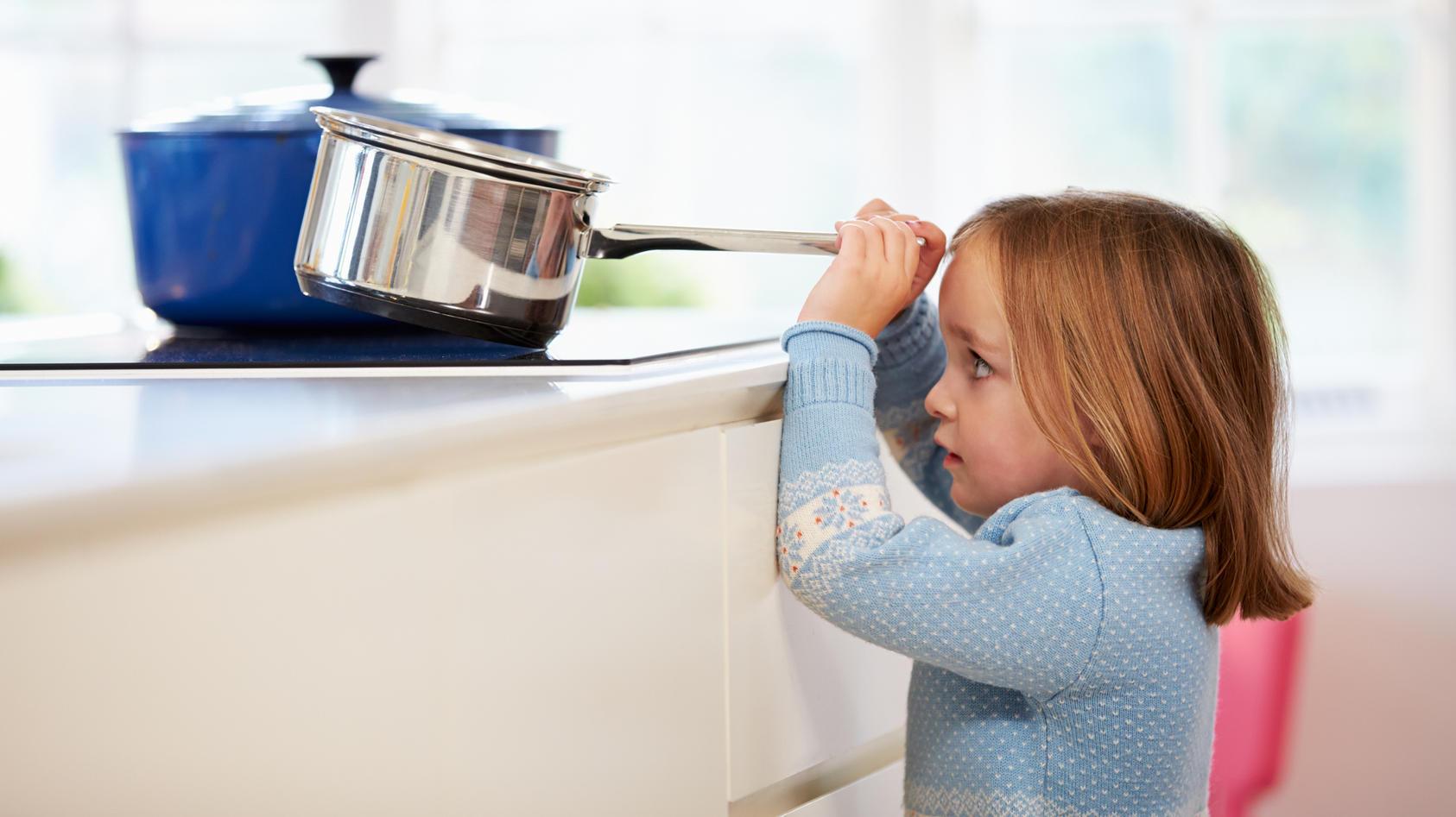 Gefahren in der Küche sollten nicht unterschätzt werden