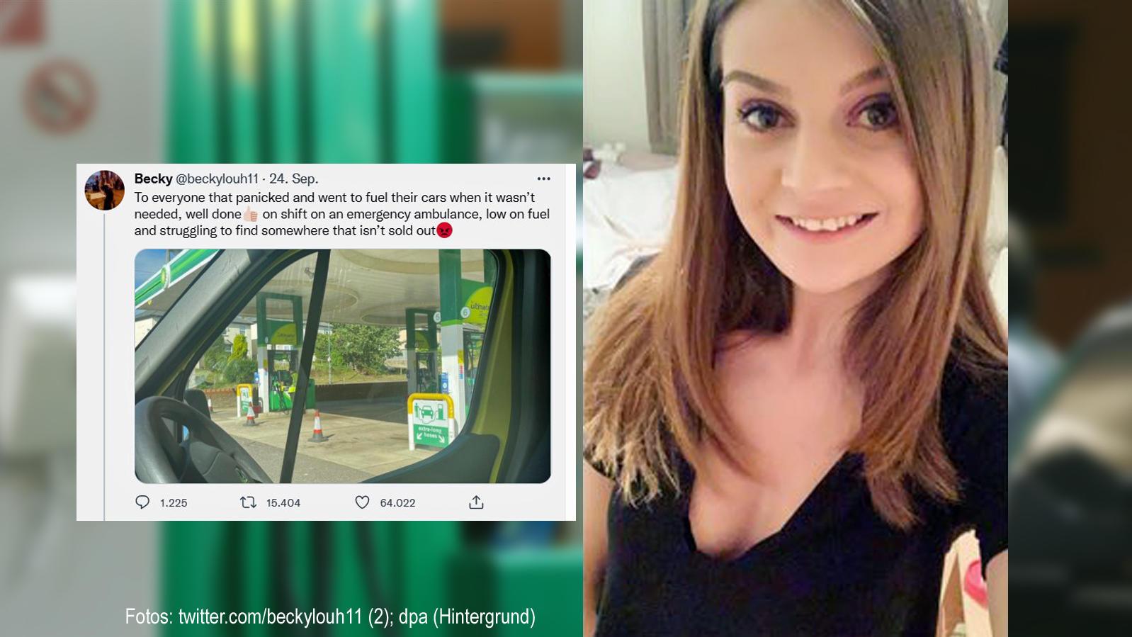 Becky Hough irrte mit ihrem Krankenwagen durch die ganze Region.