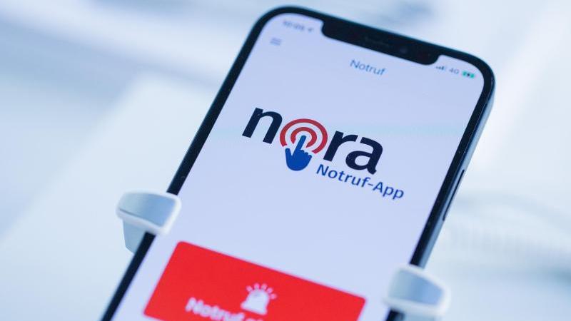 """Die Notruf-App """"nora"""" ist seit Dienstag verfügbar."""