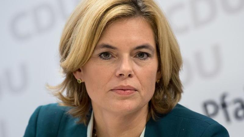 Julia Klöckner (CDU)spricht. Foto: picture alliance / Fabian Sommer/dpa/Archivbild