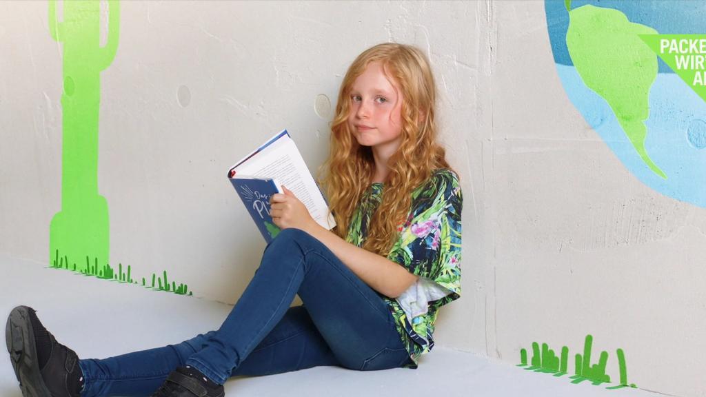 Nachhaltigkeitswoche bei RTL: Kinder-Reporterin Nala (9)