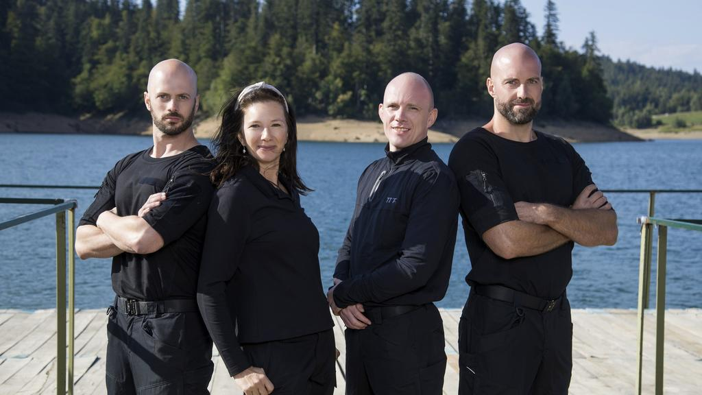 V.l.: Markus von Hauff, Nadja Petranovskaja, Felix Köster, Julien Kottysch.