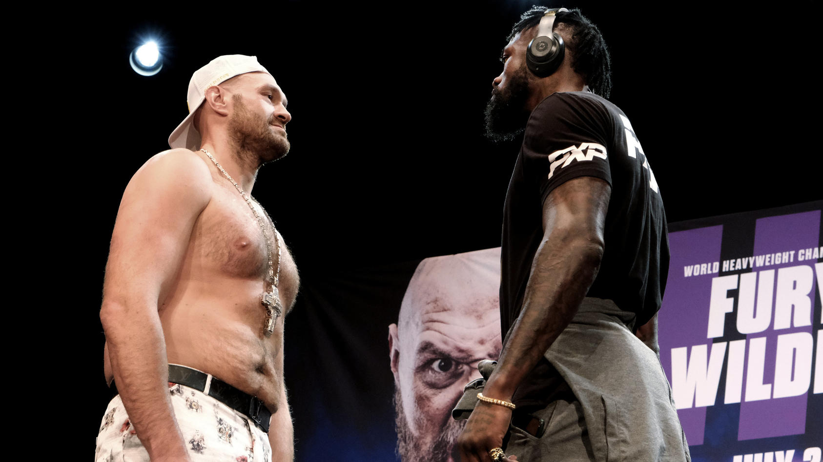 Tyson Fury und Deontay Wilder hauen sich schon zum dritten Mal was vor den Latz