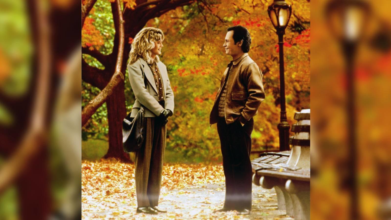 """""""Harry und Sally"""" ist einer der klassischen Herbstfilme - nicht zuletzt wegen der wunderschönen herbstlichen Kulisse."""