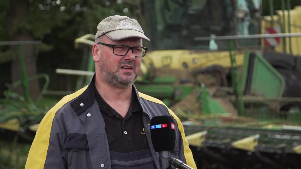 Eisenstange in Maisfeld in Dithmarschen gefunden