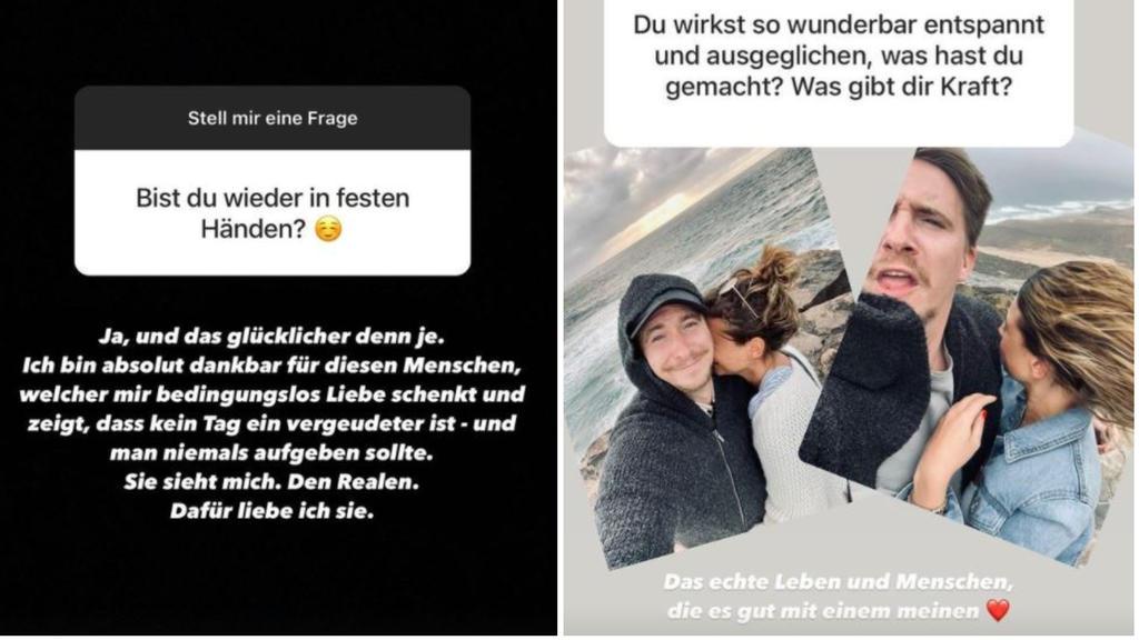 David Friedrich lässt die Liebes-Bombe auf Instagram platzen.
