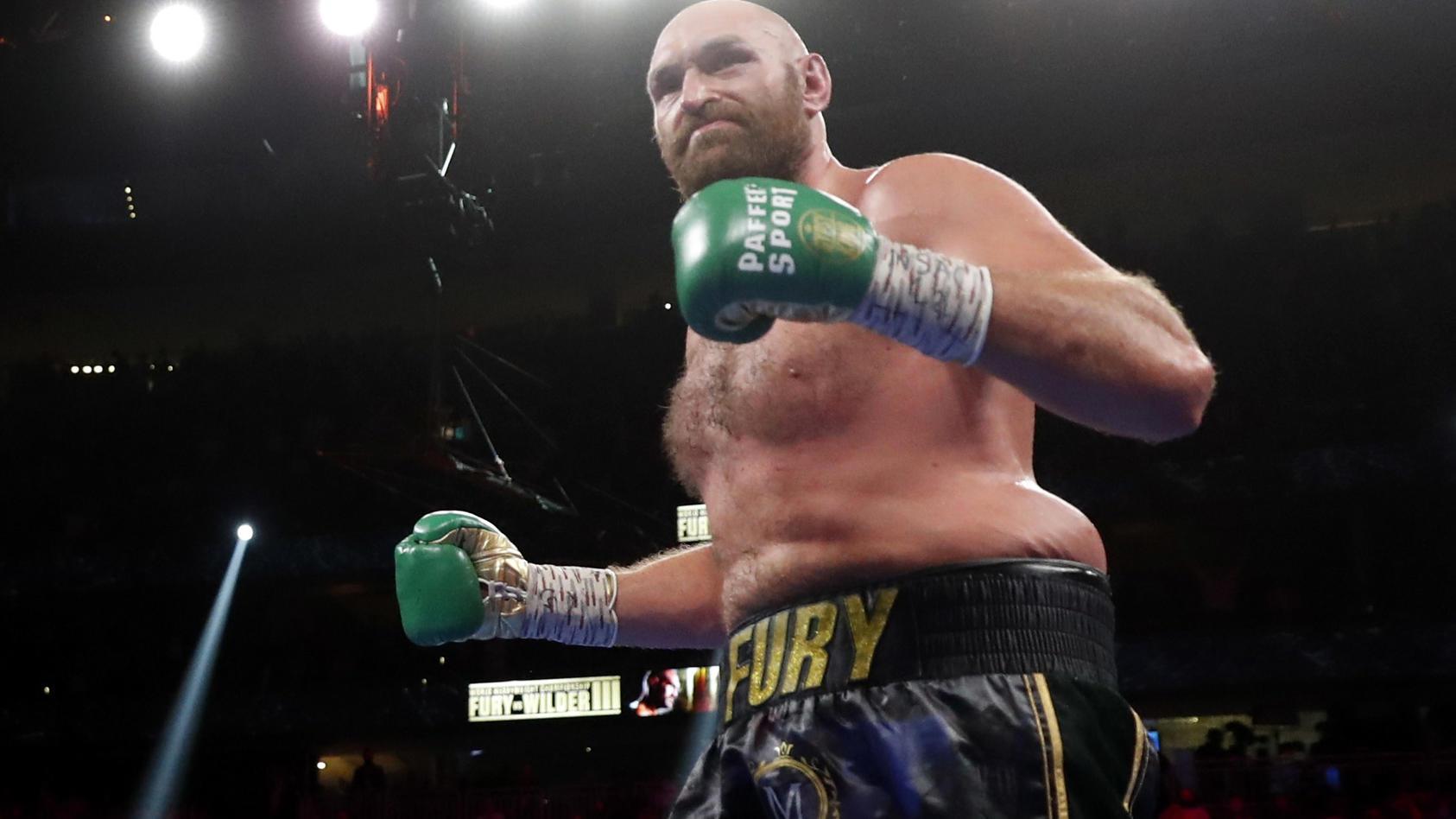 Tyson Fury ist in 32 Profikämpfen ungeschlagen, gewann 22 Mal durch K.o.