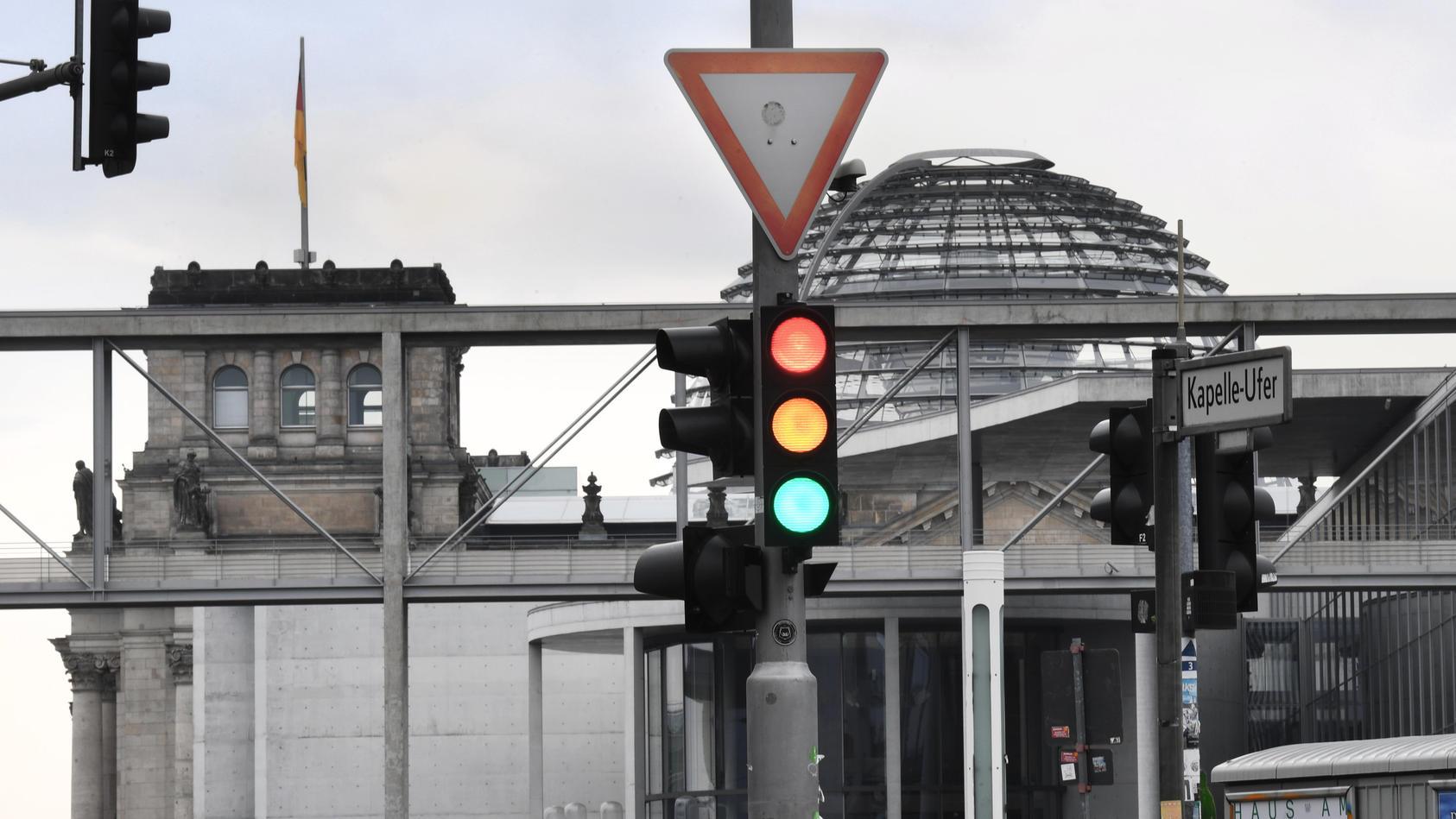 Nach der Bundestagswahl - die Zustimmung zur Ampel wächst