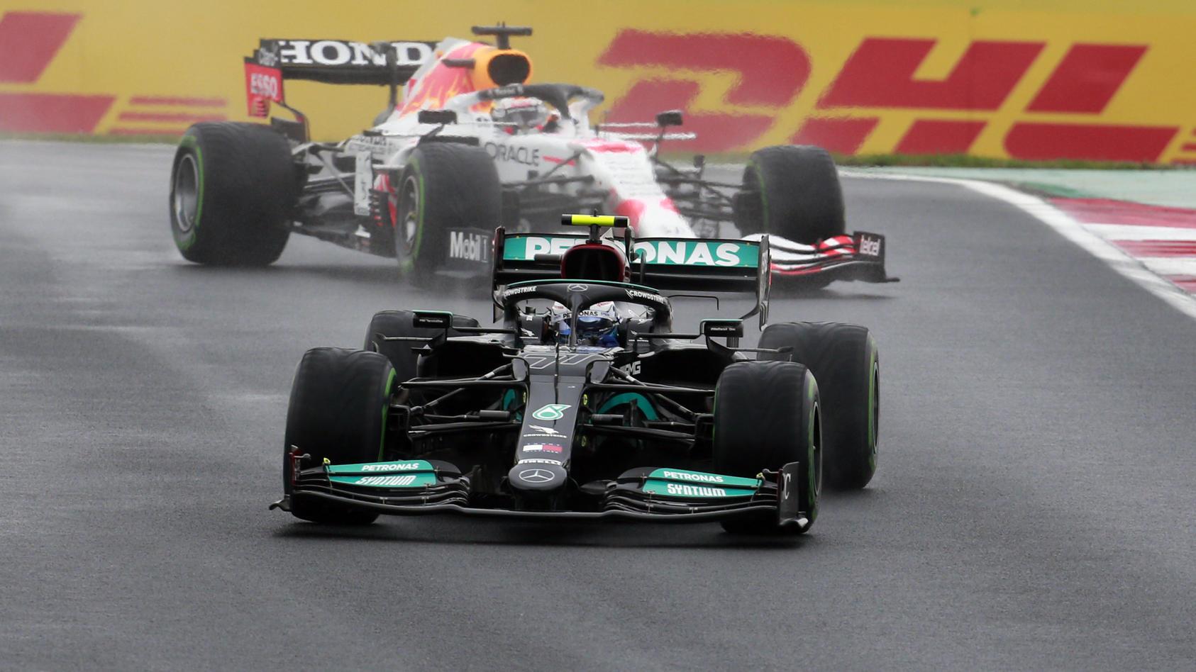 Mercedes vor Red Bull - in Istanbul war das F1-Kräfteverhältnis glasklar.