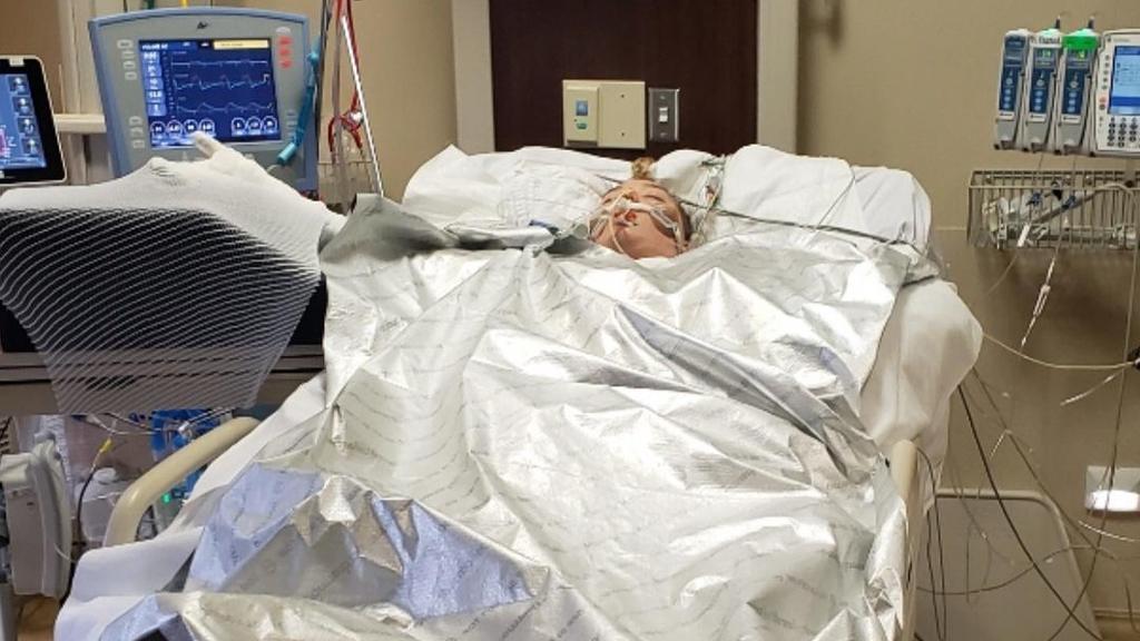 Laiha Slayton (20) kämpft nach verzweifelter Rettungsaktion um ihr Leben.