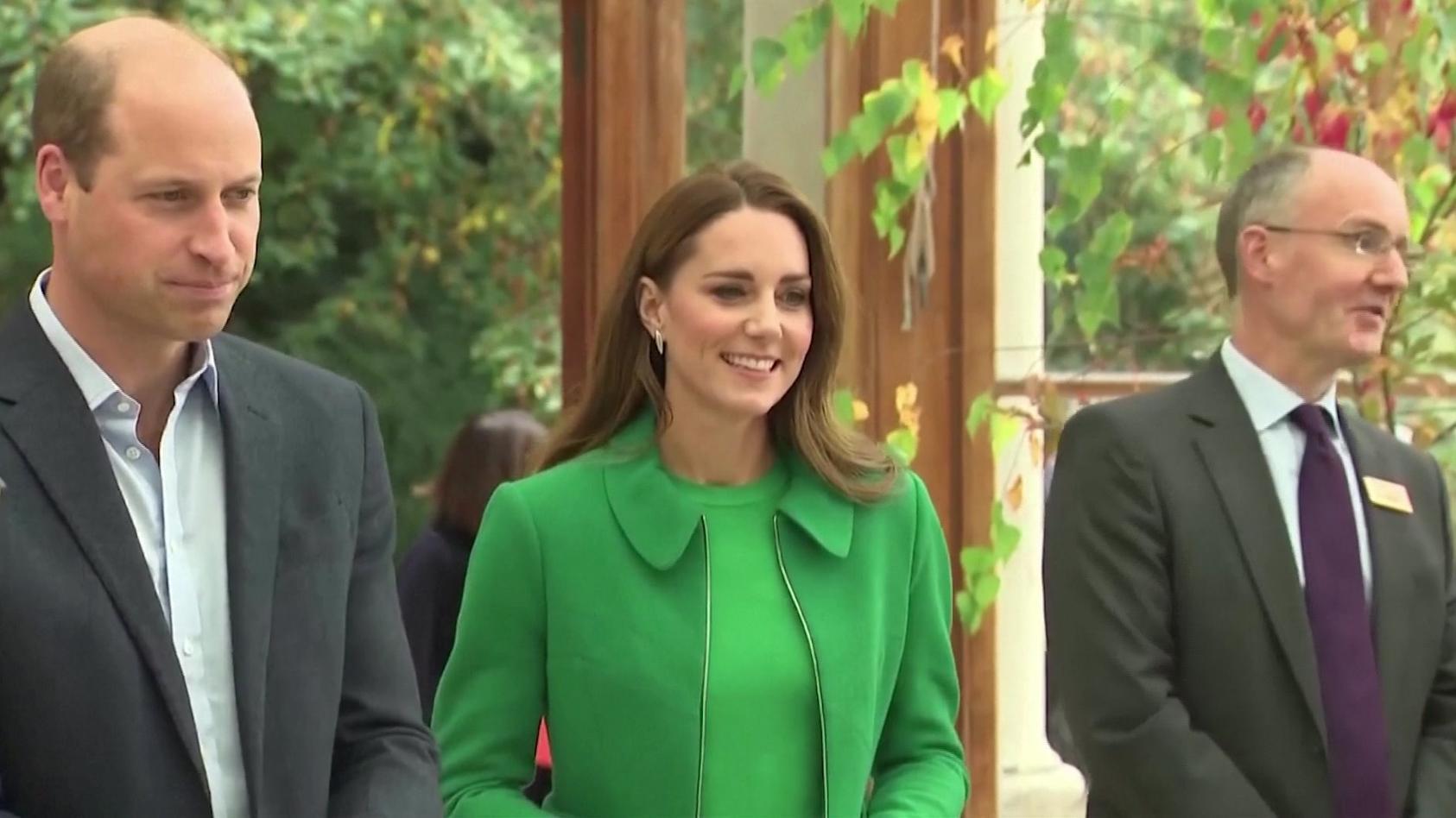 """Prinz William und Herzogin Kate beim """"Generation Earthshot""""-Event in London"""