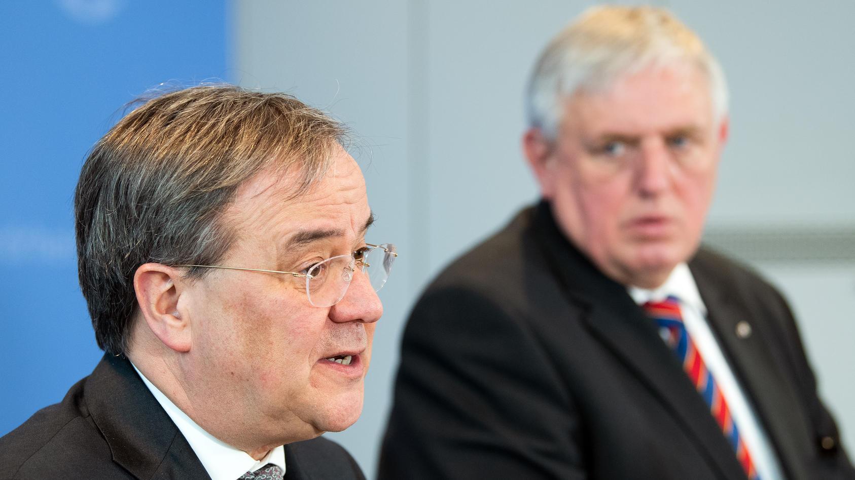 Armin Laschet und Karl-Josef Laumann standen Seite an Seite in der NRW-Regierung.