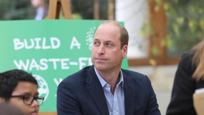 Prinz William, Herzog von Cambridge, ist kein Freund von Weltraumtourismus. Foto: Ian Vogler/POOL Daily Mirror/AP/dpa