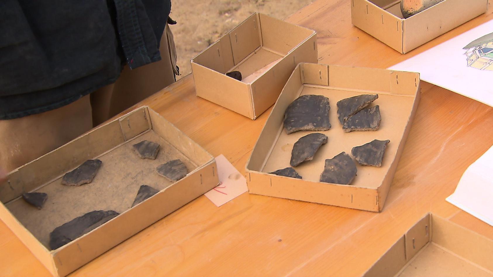 Über 800 Fundstücke wurden ausgegraben.