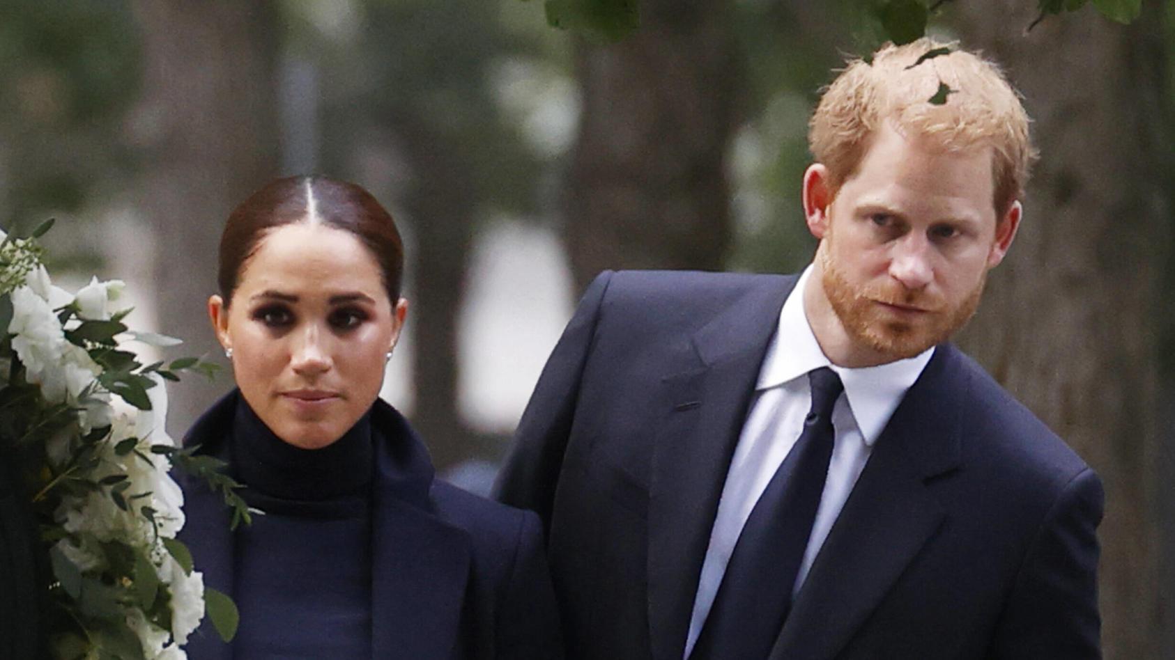 Hat Herzogin Meghan bald genug von Prinz Harry?