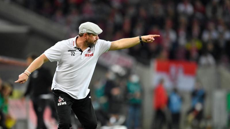 Unter der Regie seines neuen Trainers Steffen Baumgart wirkt der 1. FCKöln wie verwandelt. Foto: Marius Becker/dpa
