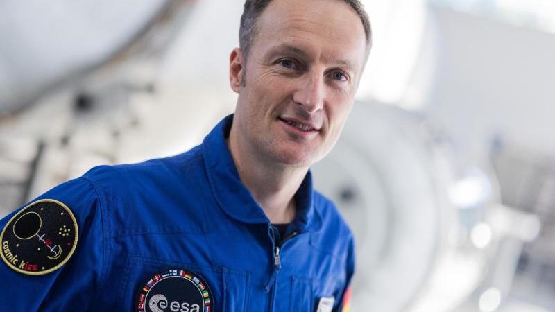 Matthias Maurer, deutscher Astronaut. Foto: Rolf Vennenbernd/dpa/Archivbild