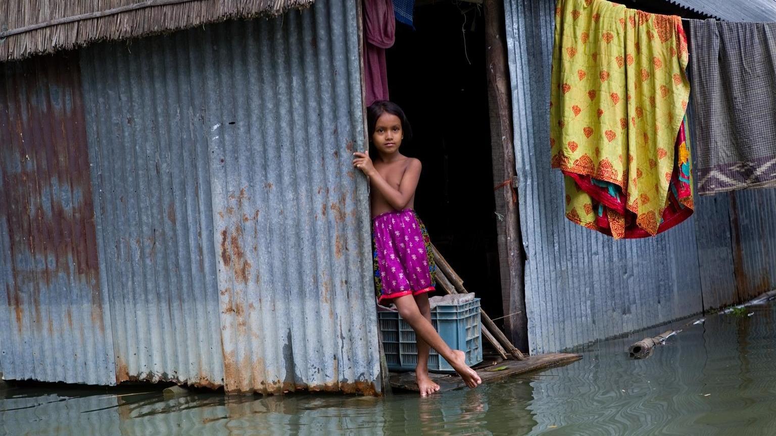 Globale Erwärmung - Kinder müssen das Schlimmste ertragen