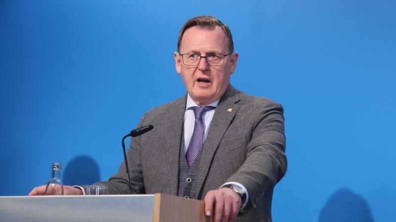 Bodo Ramelow (Die Linke), Ministerpräsident von Thüringen. Foto: Bodo Schackow/dpa-Zentralbild/dpa/Archivbild