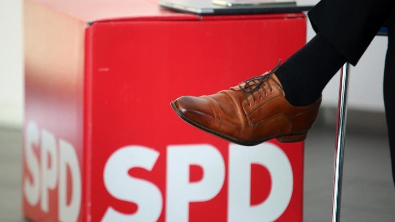 Das Logo der SPD. Foto: Matthias Bein/dpa-Zentralbild/ZB/Archivbild