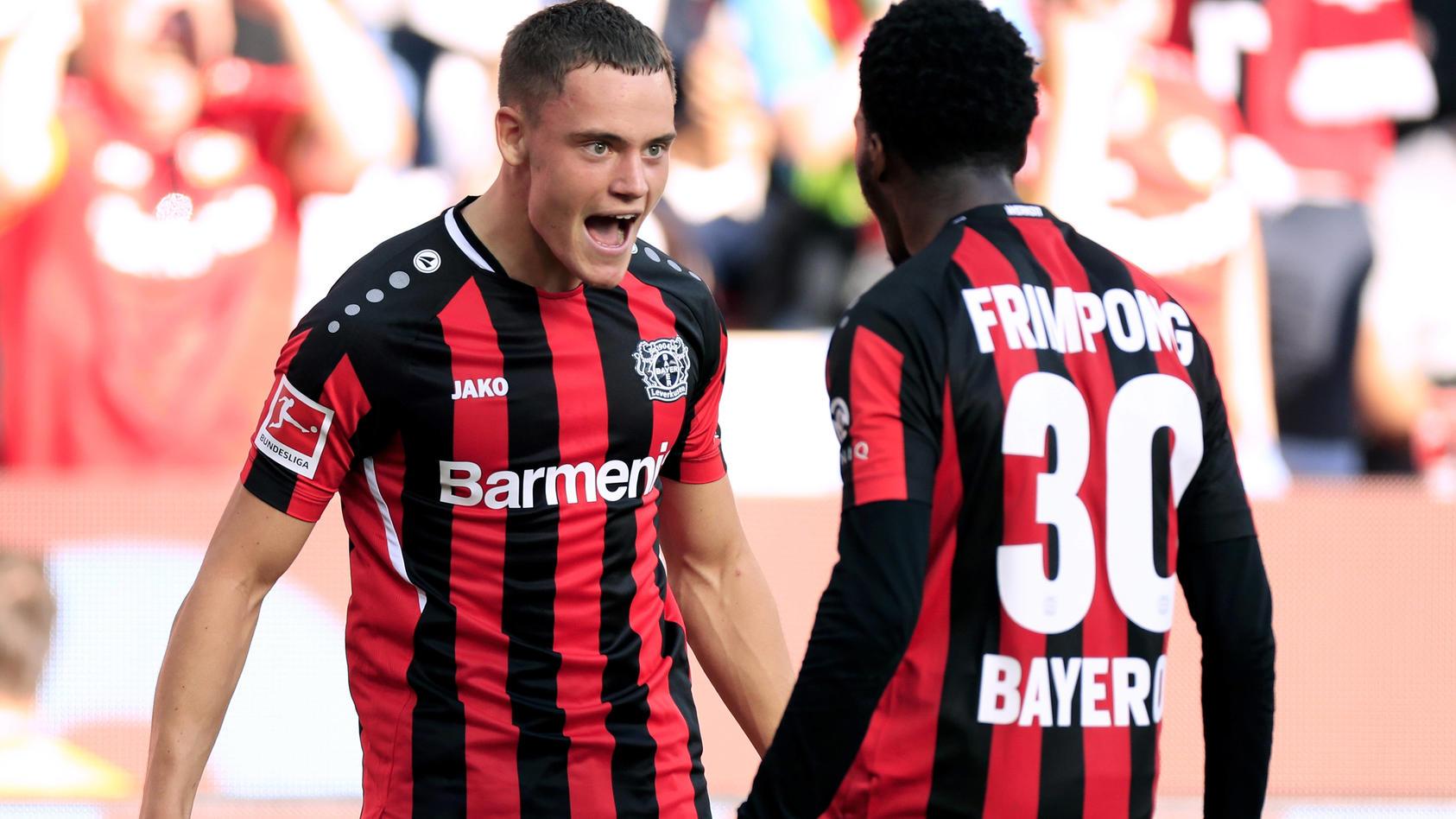 Florian Wirtz und Bayer Leverkusen lassen es in der bisherigen Bundesliga-Saison krachen
