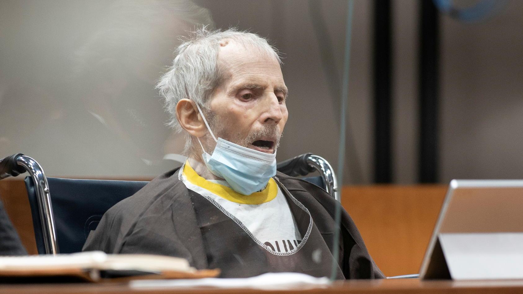 Robert Durst während des Prozesses in Los Angeles.