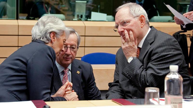 Bericht: Merkel will Schäuble als Chef der Euro-Gruppe