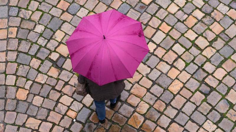 eine-frau-geht-mit-einem-regenschirm-auf-einer-strae-entlang-foto-sebastian-kahnertdpa-zentralbilddpasymbolbild