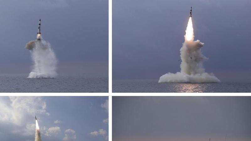 diese-kombination-von-vier-fotos-die-von-der-nordkoreanischen-regierung-zur-verfugung-gestellt-wurden-zeigt-eine-ballistische-rakete-die-in-nordkorea-von-einem-u-boot-aus-gestartet-wurde-foto-kcna-via-kns-via-ap-dpa