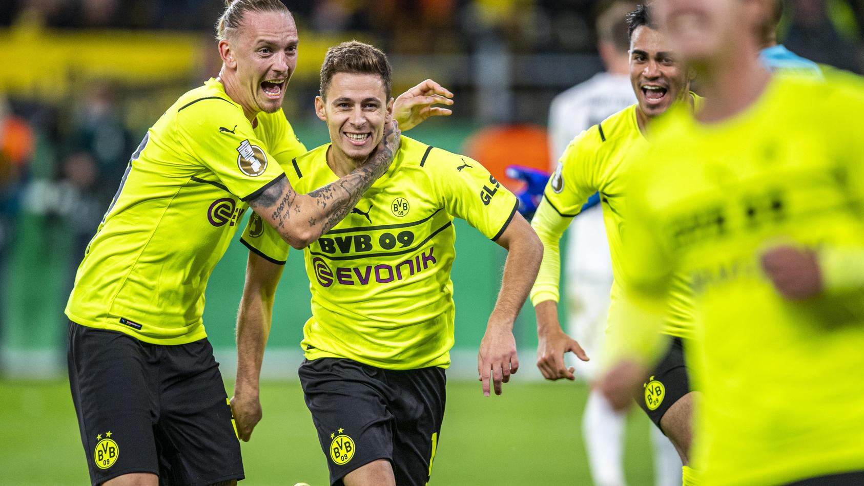 Pflichtsieg vor Minikulisse - Der Joker beendet Pokal-Qual des BVB