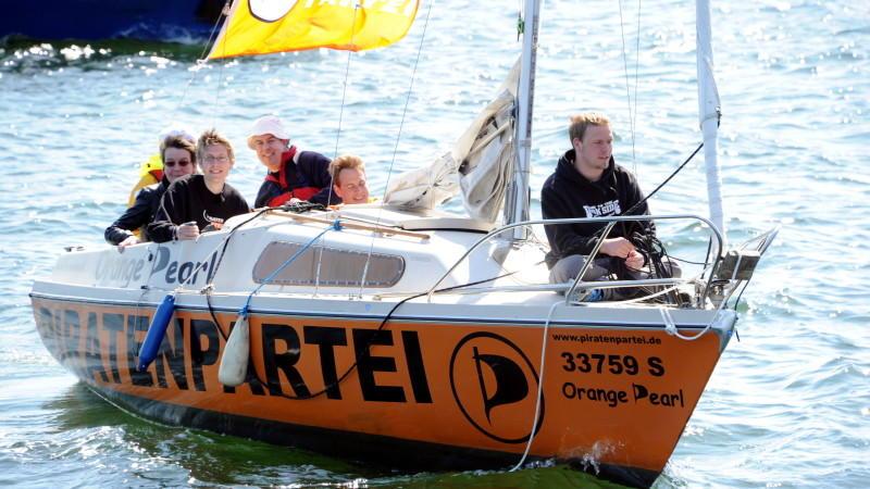 Wo segeln die Piraten hin? Daniel Schwerd, Ober-Pirat, NWR-Wahlkampf