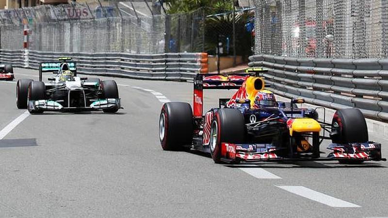Mark Webber, Nico Rosberg, Monaco, Formel 1
