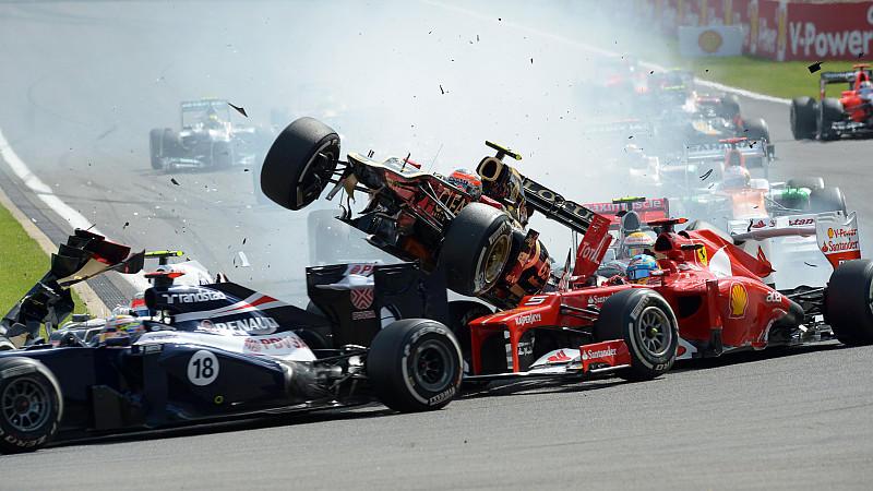 Romain Grosjean; Fernando Alonso