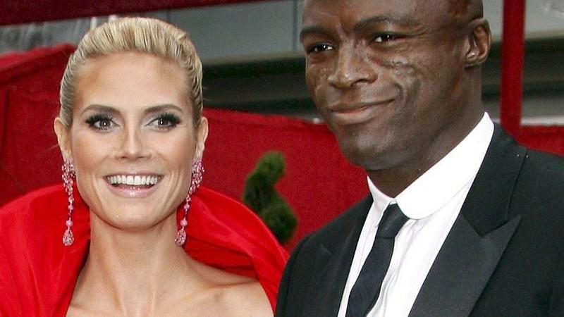 Heidi Klum und Seal im Jahr 2008, als sie noch ein glückliches Paar waren.