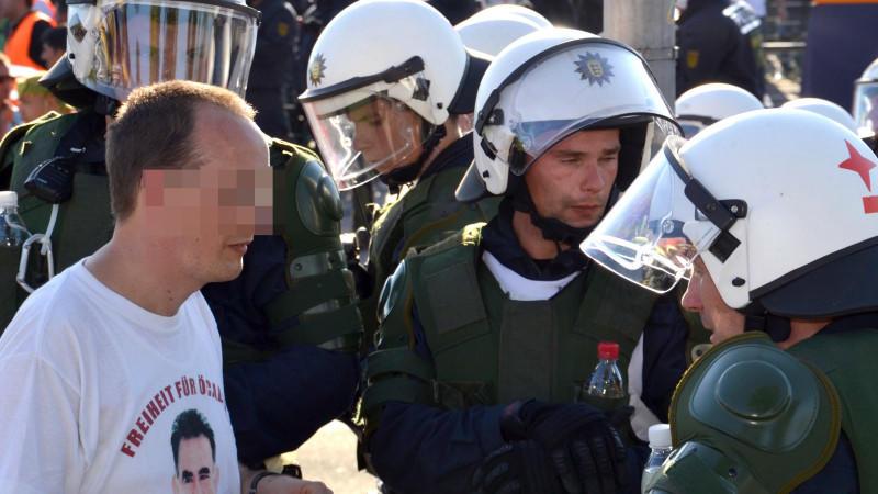 Kurdenfest Polizisten Mannheim