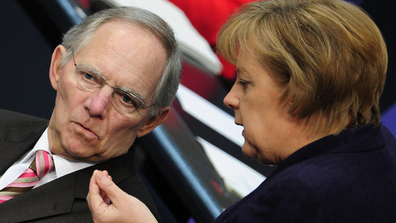 Kanzlerin Angela Merkel und Finanzminister Wolfgang Schäuble (beide CDU) ziehen in der Europapolitik an einem Strang.