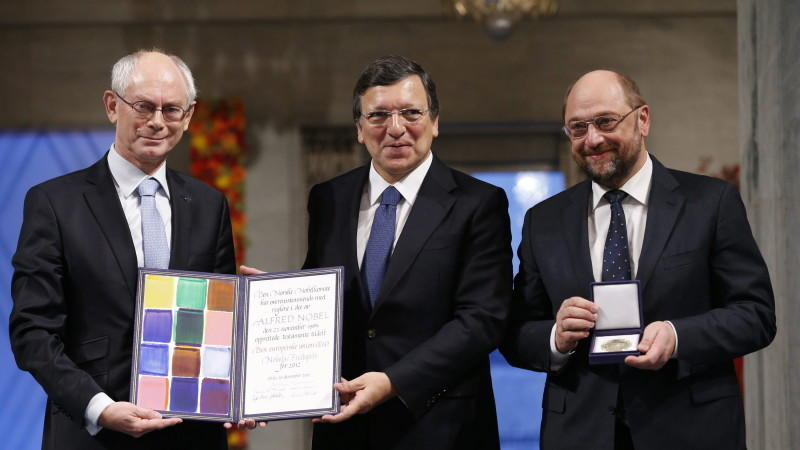 EU erhält den Friedensnobelpreis – Kritik an Verleihung