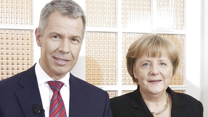 Angela Merkel RTL-Interview Peter Kloeppel Friedensnobelpreis