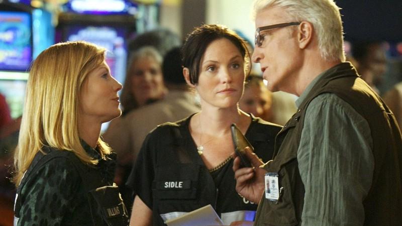 Der neue Supervisor und Chef des CSI-Teams D. B. Russell stellt sich vor.